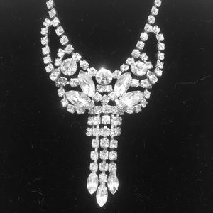 Vintage Rhinestone Necklace.